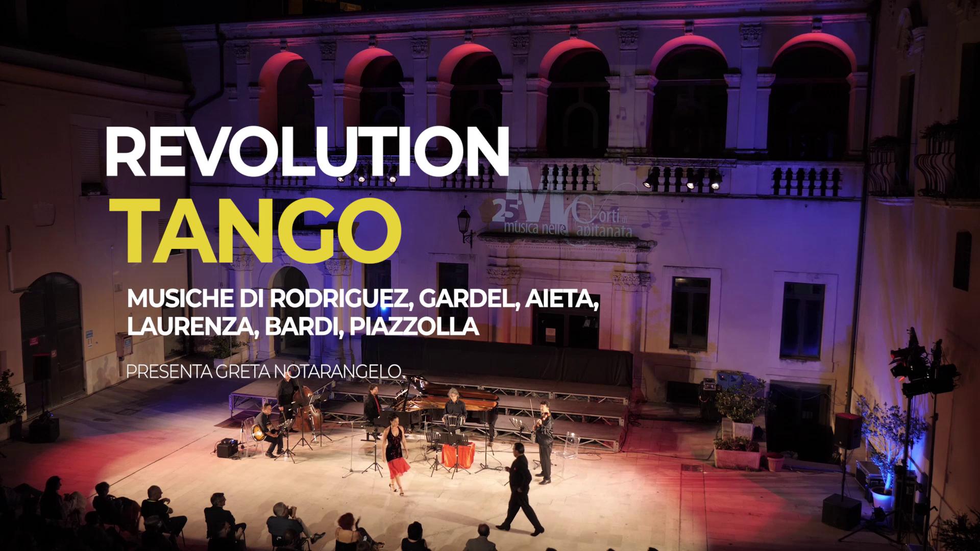 12 -15/07 – REVOLUTION TANGO
