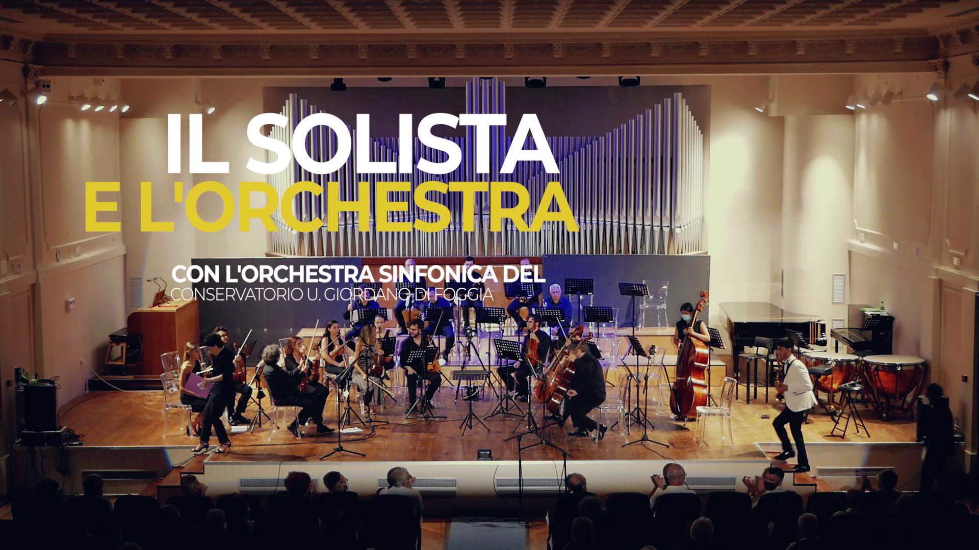 13 – 16/07 IL SOLISTA E L'ORCHESTRA