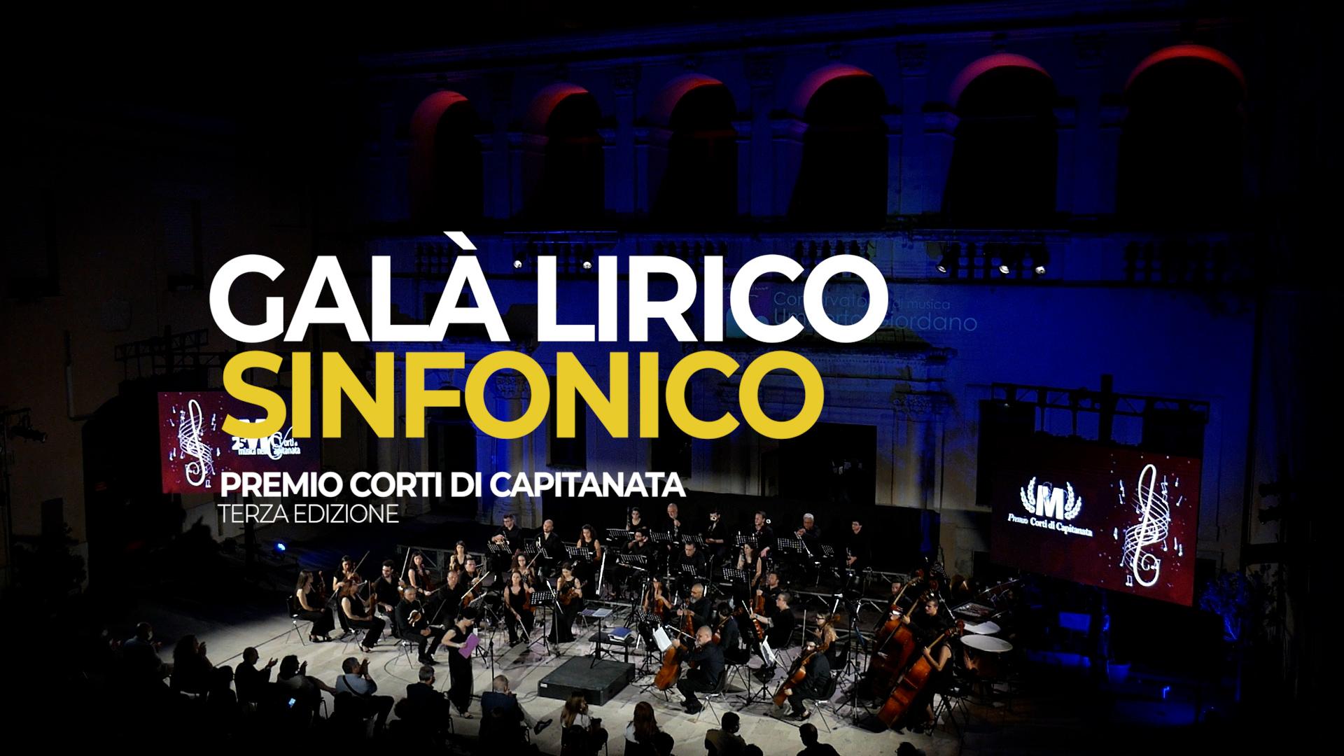 16 – 23/07 – Galà Lirico Sinfonico