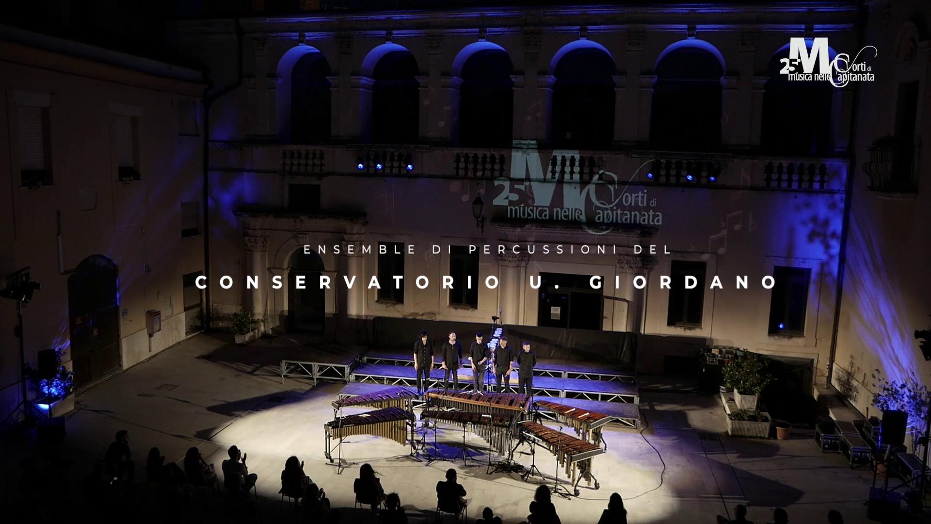 2 – 30/06 – Ensemble di percussioni del Conservatorio