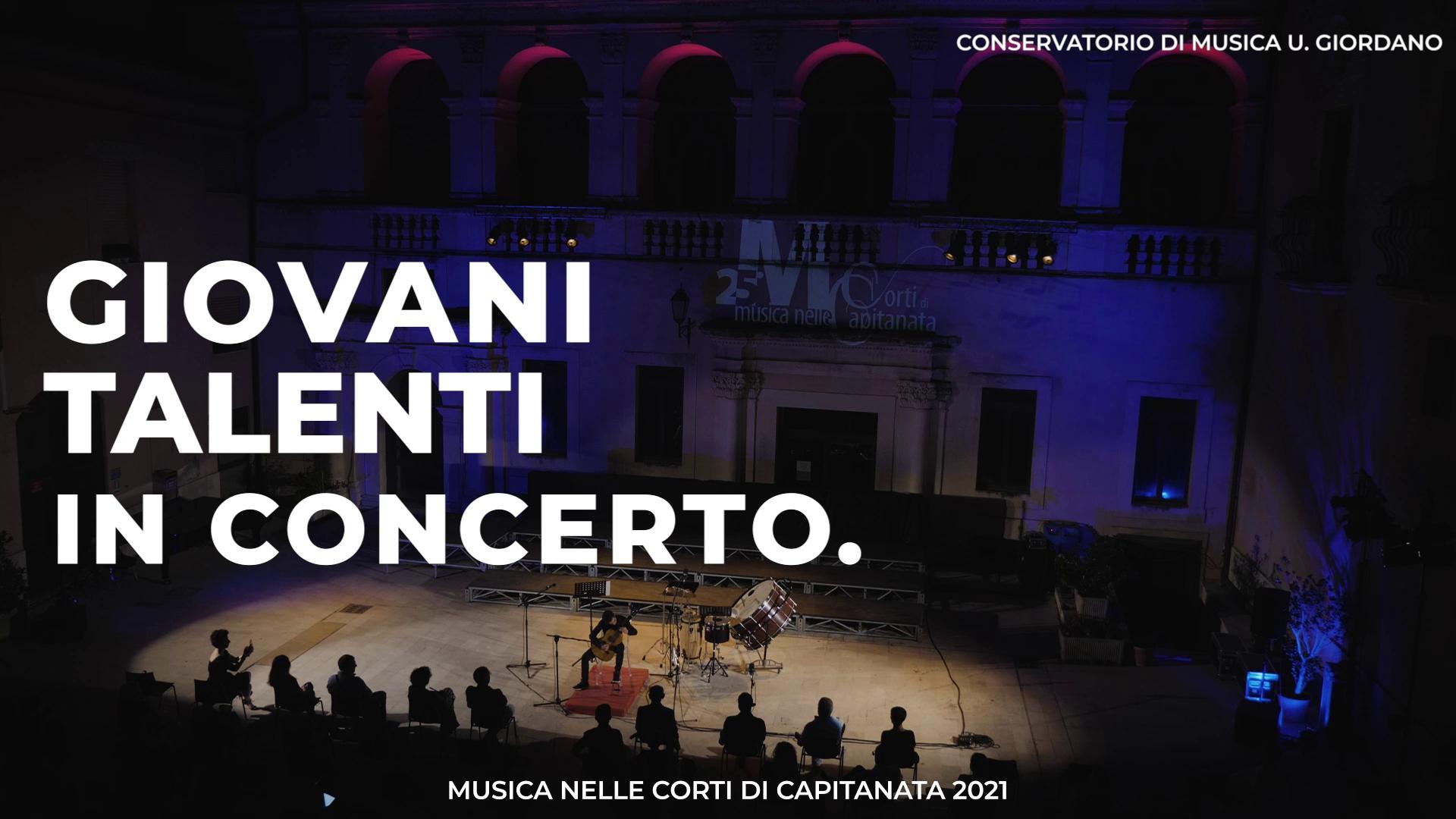 7 – 08/07 – Giovani Talenti in concerto